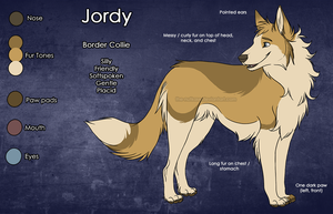 Jordy Reference Sheet by The-Nutkase