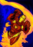 Ironman Colored by trigun-knives009