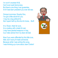 The George W. Bush Song by GPCI