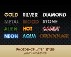 AzulGFX PS Layer Styles12 by AzulGFX
