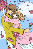 Syaoran x Sakura in Love by KatheChan