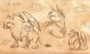 Pugriffin - Concept Sheet by Lizkay