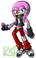 Sonic Boom Style Mikee by Katrins23