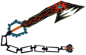 DarkChaoFang KeyBlade by jesse-anime