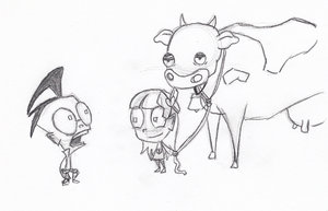 Day 46 : I'll Give You a Cow by ScrapBags
