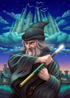 The Wizard of Rondo by allendouglasstudio