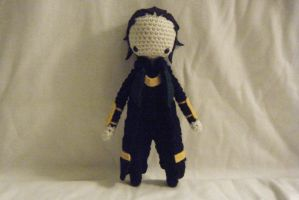 Loki Crocheted Doll by yourstarrysky