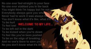 Welcome to my life -Hawkpaw by annathewerewolf
