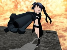 MMD Kagami as BRS DL by MaiCamie09
