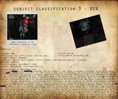 CP Subject Classification 3 -  BEN by MKUltra159