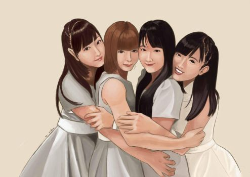 Morning Musume 9th Generation (SAI) by dear-summer