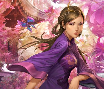 Three Kingdoms - Da Qiao by Artgerm
