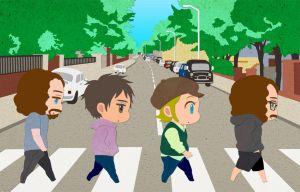 abbey road by bugmanxxx