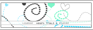 Heart Trails 2 by Liquette