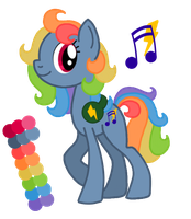 Rainbow Rave Auction [CLOSED] by CuTTyCommando
