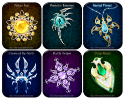 Magic items adopts 12 (CLOSED) by Rittik-Designs