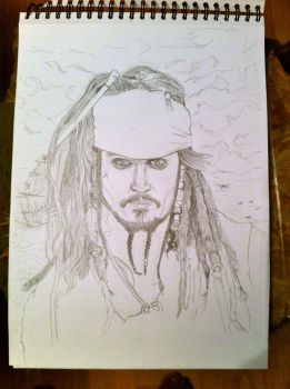 Jack Sparrow by Tijums