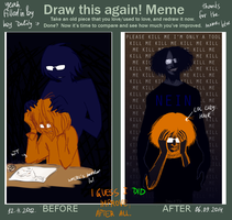 draw this shit again by ND-painter