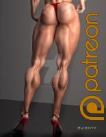 Muscle and Power_Show Stoppers by MichelleLeRainbow