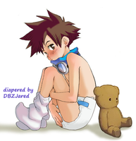 Tai with his teddy by bigddan11