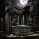 Dark Cemetery by Rpublishing by Renderosity
