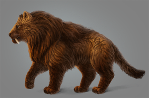 Paint Realistic Long Fur Without a Fur Brush in PS by LadyAway