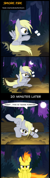 Smore Fire by Toxic-Mario