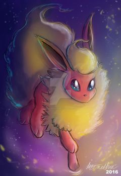 Flareon by Mad--Munchkin