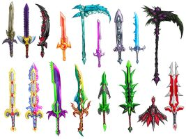 More Terrarian Swords! (and then some) by Daimera