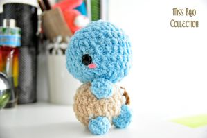Squirtle Fluffy by MissBajoCollection