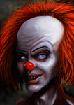 Pennywise / It by junkome