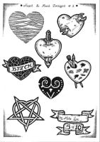 Tattoo Flash 4 by mikegee777