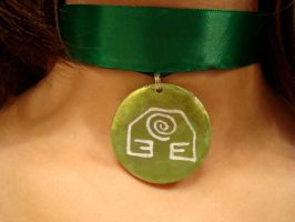 Katara's Necklace:EarthVersion by pah-her-pul