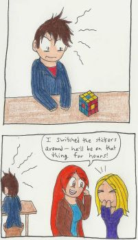 The Doctor and the Rubix Cube by CaptainAki13