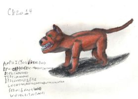 TODS: Amphicyon/Bear-Dog by GeneralHelghast