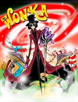 MR. WILLY WONKA WORLD by favius