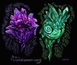 Crystal Power-ups by Dale-Walters