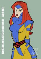 Jean Grey: Jim Lee Evolution by Inspector97