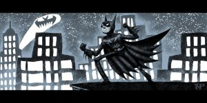 The Odd Adventures of the Bat-Man of Gotham by tnperkins