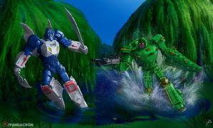 Transformers - Titans Beasties Return Wars by synth-brave
