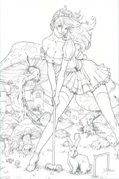 Wonderland Annual 1 - Pencils by SquirrelShaver