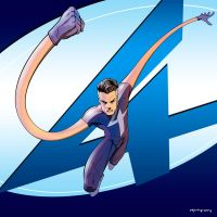 Fantastic Four: Mr. Fantastic by arunion