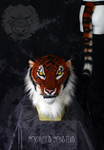 'Nirvana' Sumatran tiger head and tail AUCTION by fenrirschild