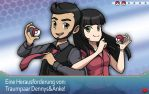 Pokemon Trainers - Dream Couple by Shampie