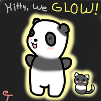 Kitty, look- we GLOW by Typhloser