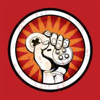 Faded Fist Logo by chinesepeasant