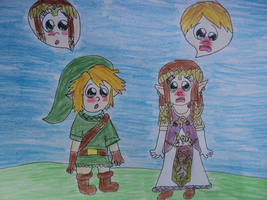 Link And Zelda Body Swap by BubbleIce720