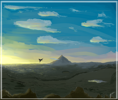 The Lonely Mountian  by biggs2