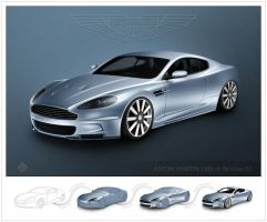 ASTON MARTIN CS2 Steps by m0rcin