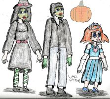Art Jam Entry-A Rogers Family Halloween by Urvy1A